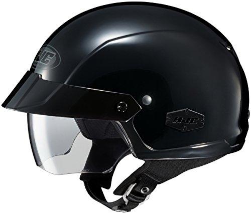 HJC IS-Cruiser Half Helmet Solid Colors Black XSM 0824-0105-03