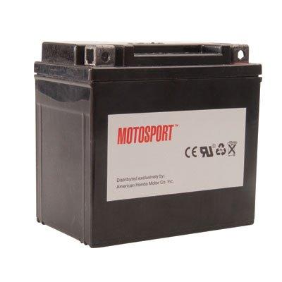 Motosport Maintenance-Free Battery with Acid GTX20LBS for Harley-Davidson Dyna Wide Glide FXDWGI 2010-2016