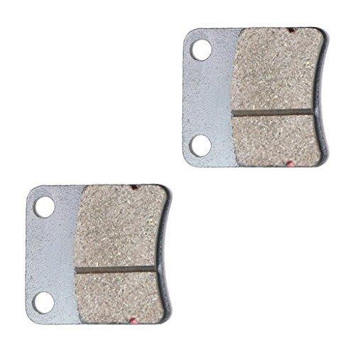 CNBK Front Disc Brake Pads Semi-met fit HONDA Street Bike SK50 SK 50 MM-III MP-III MP-IV AF28 Dio ZX 1 Pair2 Pads