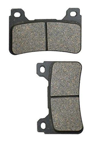 CNBK Front Left Brake Pads Semi Metallic fit for HONDA Street Bike CBR1000 CBR1000RA CBR 1000 Fireblade RA9 C- ABS 09 10 11 12 13 14 15 2009 2010 2011 2012 2013 2014 2015 1 Pair2 Pads