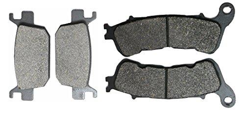 CNBK Motorcycle Semi-Metallic Disc Brake Pads Set fit for HONDA Street Bike NSS300 NSS 300 cc 300cc AD Forza 13 14 15 2013 2014 2015 4 Pads