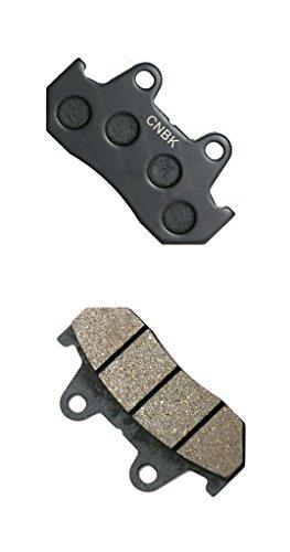 CNBK Rear Brake Pads Resin fit for HONDA Street Bike GL1200 GL 1200 Goldwing SC14 D342 84up 1984up 1 Pair2 Pads