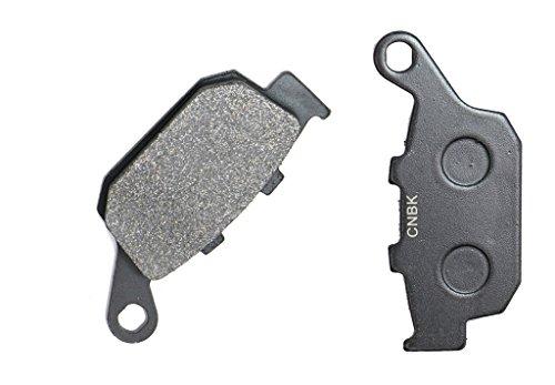 CNBK Rear Brake Pads Semi-Metallic fit for HONDA Street Bike CBR650 CBR650FA CBR 650 FA Full fairing 14 15 2014 2015 1 Pair2 Pads