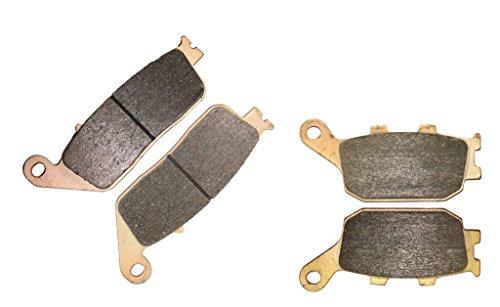 CNBK Sintered H-H Disc Brake Pads Set fit HONDA Street Bike VTX1300 VTX 1300 cc 1300cc S3 S4 S5 S6 S7 S8 2003 2004 2005 2006 2007 2008 03 04 05 06 07 08 4 Pads