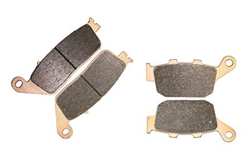 CNBK Sintering Disc Brake Pads Set fit for HONDA Street Bike CB1 CB400 CB CB-1 400 cc 400cc CB400 F NC27 - 1989 1990 89 90 4 Pads