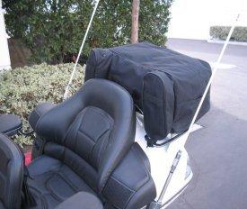 Champion Honda Goldwing 1800 Rack Luggage w Rain Cover