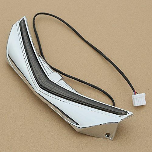 XFMT Rear Fender Tip with LED Run-Brake Accent Light For Honda Goldwing 1800 F6B