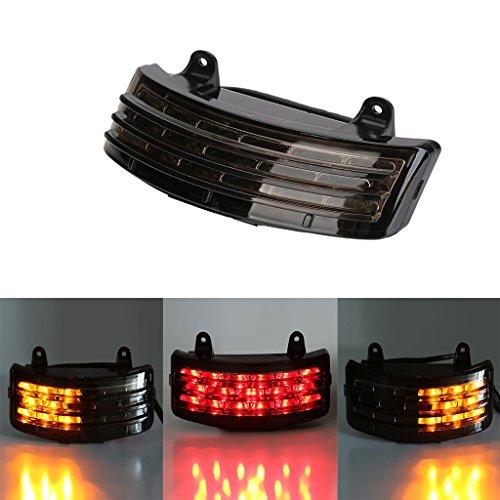 Tri-Bar Rear Fender LED Brake TaillightTurn Signal Lamp For Harley FLHX Touring