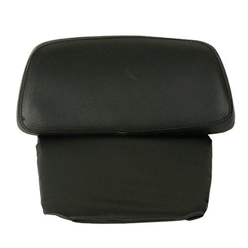 Black Chopped Tour-Pak Backrest Pad For Harley Street Glide Road King 14-17 16