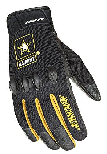 Joe Rocket U.s. Army Stryker Mens Black Mesh Motorcycle Gloves - Medium