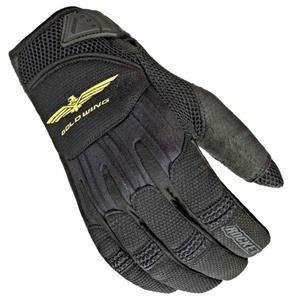 Joe Rocket Women's Goldwing Skyline Mesh Gloves - Medium/black/black
