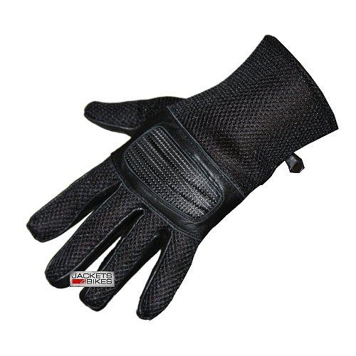 New S14 Summer Mesh Motorcycle Bike Gloves Black Size S