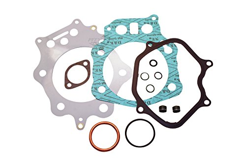 Premium ATV Brand Top End Gasket Kit with Multi-Layered Head gasket and Valve Seals FITS 1998-2004 Honda Foreman 450 SES