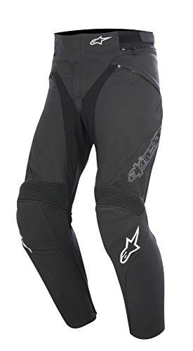 Alpinestars Jagg Black Leather Motorcycle Pants