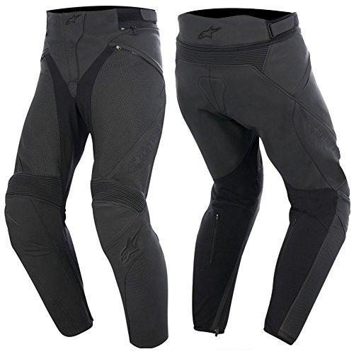 Alpinestars Stella Jagg Airflow Womens Leather Motorcycle Pants - 38