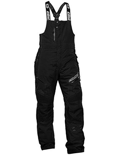 Castle X Tundra Mens Snowmobile Bibs Black XLG Short