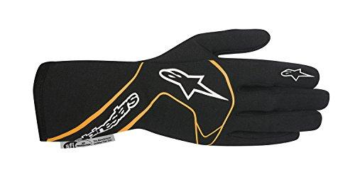 Alpinestars 2017 Tech 1 Race Glove - Size X-Large - BlackOrange Fluorescent - SFI 33 LEVEL 5FIA 8856-2000 3551117-156-XL