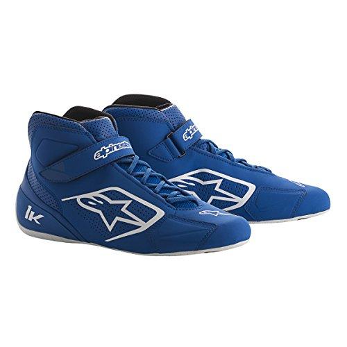 Alpinestars 2712018-72B-85 Tech 1-K Shoes BlueBlackWhite Size 85