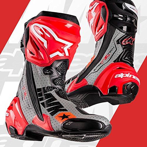 Alpinestars Limited Edition Mach 1 Supertech R Maverick Vinales Jerez Replica Boots - Euro 45US 105