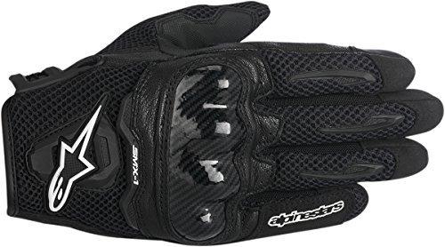 Alpinestars SMX-1 Air Mens Motorcycle Gloves - Black - Large