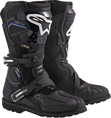 Alpinestars Toucan Gore-TEX Mens Weatherproof Motorcycle Touring Boots Black US Size 12