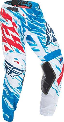 Fly Racing Unisex-Adult Kinetic Relapse Pants RedWhiteBlue Size 34