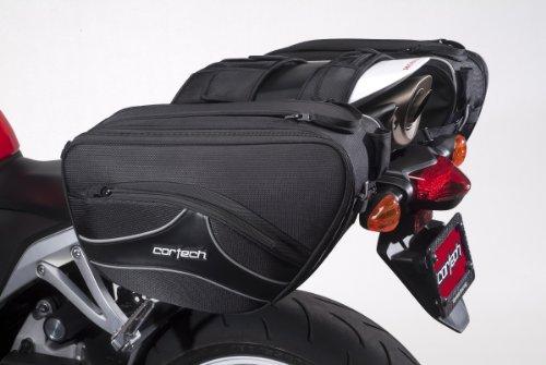 Cortech 8230-0305-36 Black Super 20 Saddlebag