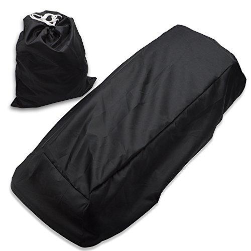 Waterproof Black Saddlebag Speaker Lid Cover Fits Harley Road King Street Glide Electra
