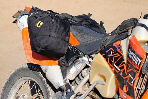 Wolfman Luggage S0512 - E-12 Saddle Bags V-17