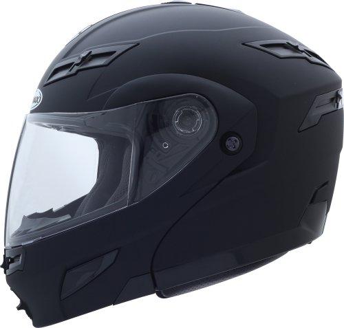 G-max Gm54s Modular Street Helmet, Flat Black, Size: Xl, Primary Color: Black, Helmet Type: Modular Helmets, Helmet