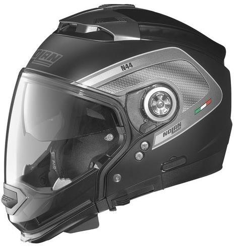 Nolan N-44 N-com Tech Helmet , Gender: Mens/unisex, Helmet Type: Modular Helmets, Helmet Category: Street, Distinct