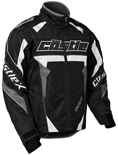 Castle X Bolt G4 Mens Snowmobile Jacket Black LG Tall