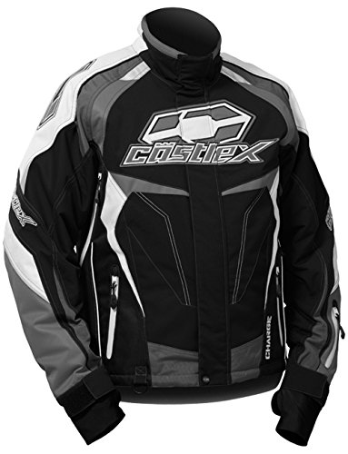 Castle X Charge G3 Mens Snowmobile Jacket - Black - XL