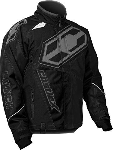 Castle X Launch G4 Mens Snowmobile Jacket - Black - 3XL