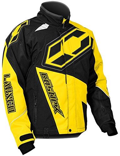 Castle X Launch G4 Mens Snowmobile Jacket - Yellow - 2XL