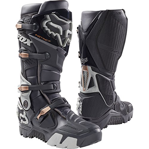 Fox Racing Instinct Offroad Mens Motocross Boots - Charcoal - 8