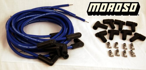 Chevy 400 350 327 307 305 302 283 Blue HEI 8mm Silicone Spark Plug Wire Set