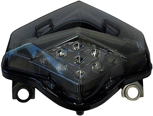 2012-2016 Kawasaki Ninja 650 Smoked Integrated LED Tail Light - 905-4569D