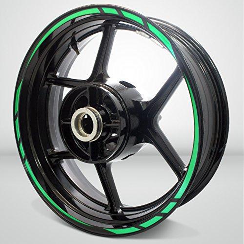 Rapid Outer Rim Liner Stripe for Kawasaki Ninja 650 Reflective Green