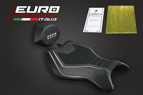 Kawasaki H2 2015-2016 Luimoto Suede Tec-Grip Seat Cowl Covers New  Gel Pad