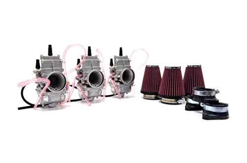 Kawasaki H2 750 72-75 Mikuni TM32 32mm Flat Slide Carburetor Kit NCS239 by Niche Cycle Supply