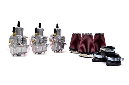 Kawasaki H2 750 72-75 Mikuni VM32 32mm Round Slide Carburetor Kit UFO NCS239R by Niche Cycle Supply