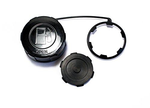 Kawasaki 600  610  4000  4010 Mule Screw-on Gas  Fuel Cap 51048-0026 with Gasket 11061-0395