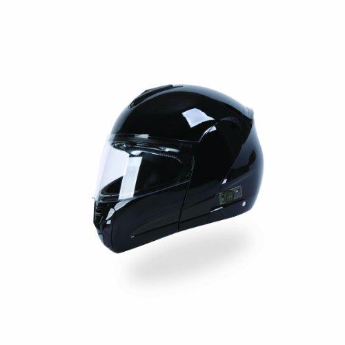 TORC T22B Interstate Modular Helmet with Blinc 20 Stereo Bluetooth Technology Black X-Small