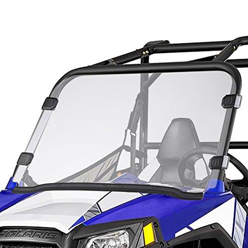 Orion Motor Tech Polaris UTV Full Windshield for 09-14 RZR S 800 10-14 RZR 4-800 11-14 RZR XP 900 12-14 RZR 570 12-14 RZR XP 4-900