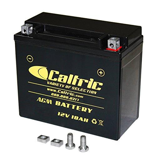 CALTRIC AGM BATTERY Fits POLARIS RANGER RZR S 800 EFI 2009-2014