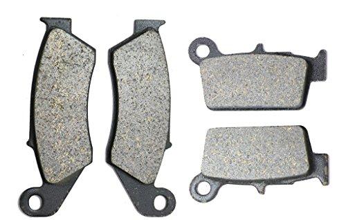 CNBK Carbon Disc Brake Pads Set for YAMAHA Dirt Bike WR450 WR 450 cc 450cc F 03 04 05 06 07 08 09 10 11 12 13 14 15 2003 2004 2005 2006 2007 2008 2009 2010 2011 2012 2013 2014 2015 4 Pads