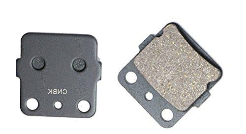 CNBK Rear Brake Pad Carbon fit for YAMAHA Dirt Bike YZ80 YZ 80 E F G H1 J1 93 94 95 96 97 98 99 00 01 1993 1994 1995 1996 1997 1998 1999 2000 2001 1 Pair2 Pads