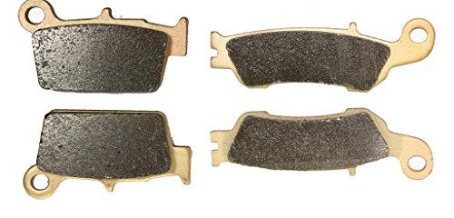 CNBK Sinter H-H Brake Pads Set for YAMAHA Dirt Bike YZ125 YZ 125 cc 125cc X 2T 2008 2009 2010 2011 2012 2013 2014 2015 08 09 10 11 12 13 14 15 4 Pads