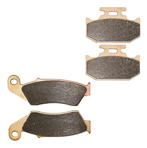 CNBK Sintering H-H Brake Pad Set fit for YAMAHA Dirt Bike YZ400 YZ 400 cc 400cc F 1998 98 4 Pads